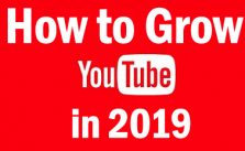 grow youtube in 2019