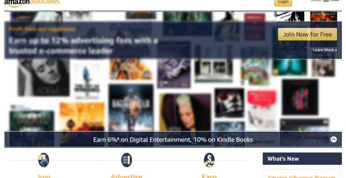 amazon affiliate join